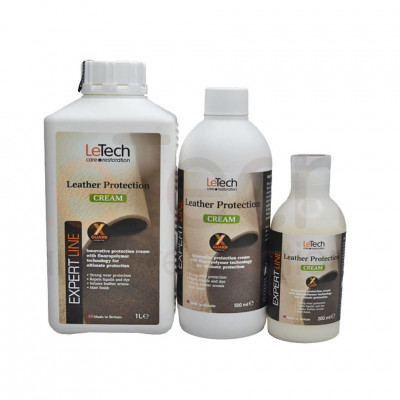LeTech Защитный крем для кожи Leather Protection Cream X-GUARD PROTECTED
